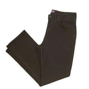 NYDJ Black 14P Straight Jean Denim Pants